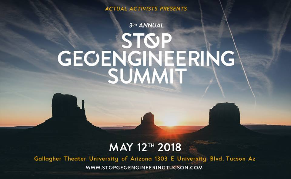 3rd Annual Global Summit to Stop Geoengineering